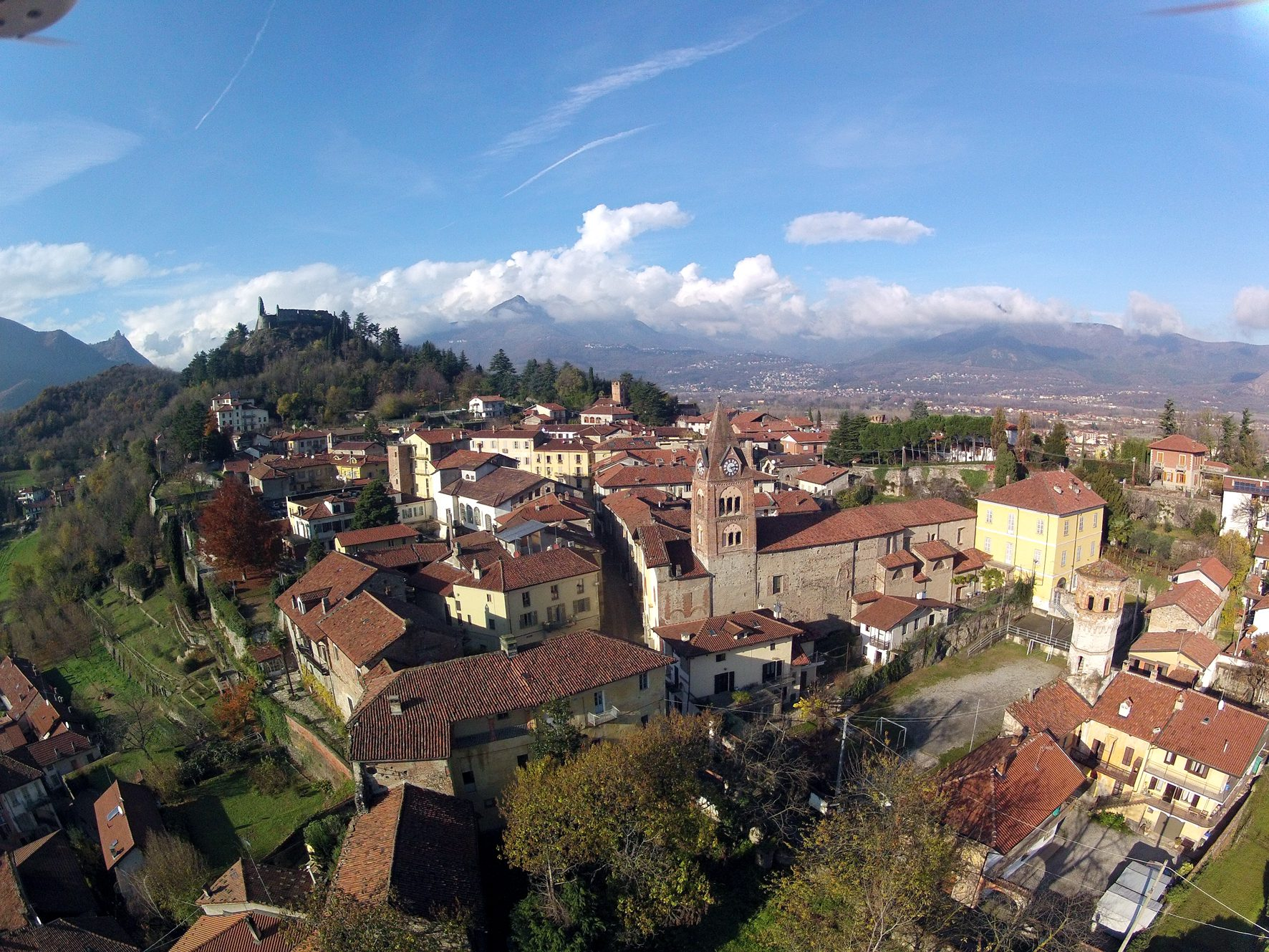 Panoramica centro Avigliana