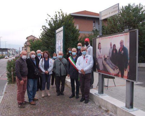 Piazzale donatori sangue - Foto per gentile concessione di Giuseppe Maritano