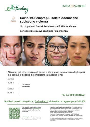 Sostieni il progetto dei centri antiviolenza Emma Onlus