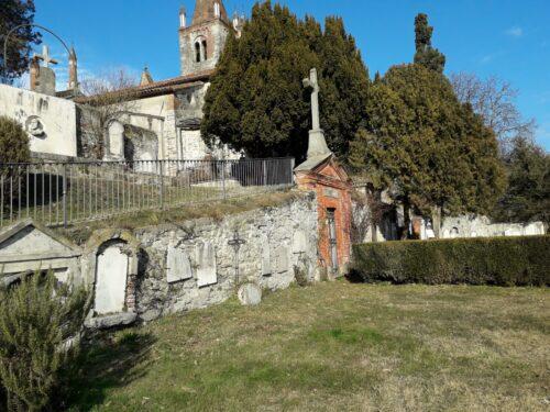 Ripristinato il muro del cimitero di San Pietro, crollato durante l'alluvione del 2019