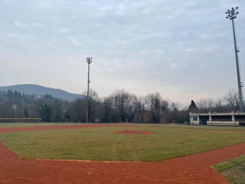 Completato il secondo lotto dei lavori al campo da baseball in vista degli europei European baseball championship Piemonte 2021